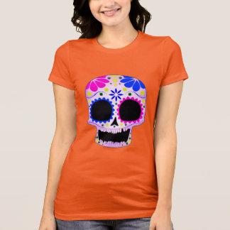 Happy Sugar Skull Design T-Shirt