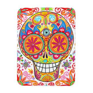 Happy Sugar Skull Premium Magnet