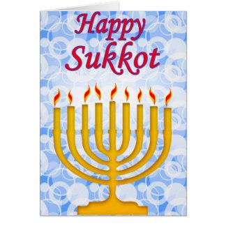 Happy Sukkot Greeting Card
