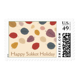 Happy Sukkot Holiday Stamps