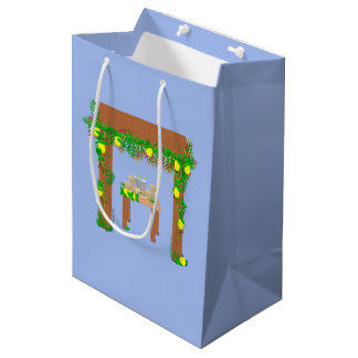 Happy Sukkot Medium Gift Bag