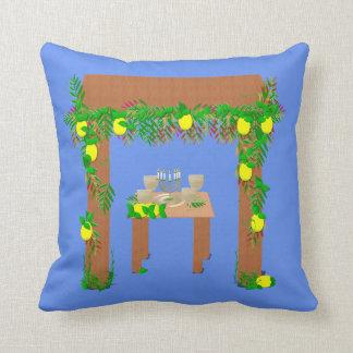 Happy Sukkot Throw Pillow