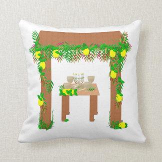 Happy Sukkot, Throw Pillow