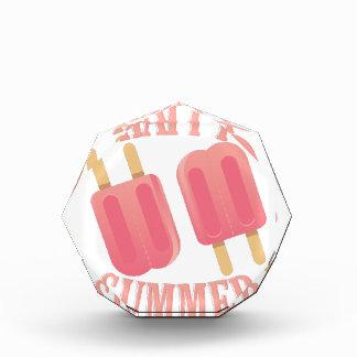 Happy Summer Acrylic Award