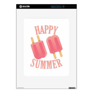 Happy Summer Decal For The iPad