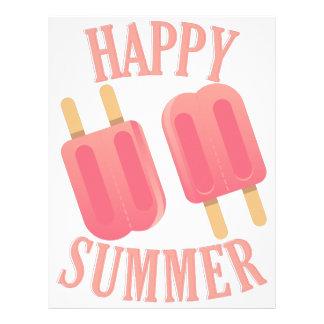 Happy Summer Letterhead
