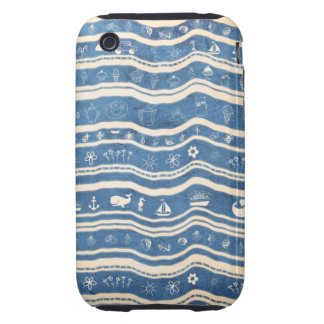 Happy Summer Time iPhone 3 Tough Case