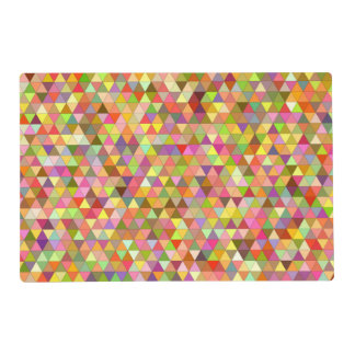 Happy summer triangles placemat