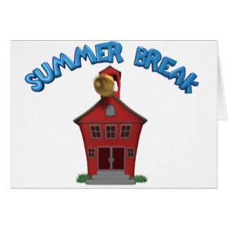 Happy Summer Vacation Card