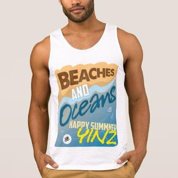 Beach Themed Happy Summer, Yinz! Tank Top