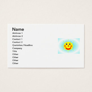 Happy Sun Business Card