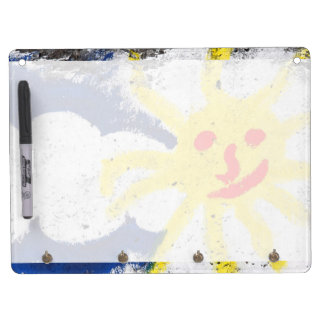 Happy Sun face smiling Dry Erase Whiteboards