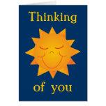 Happy Sun Greeting Card