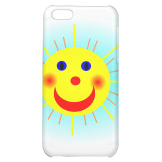 Happy Sun Case For iPhone 5C
