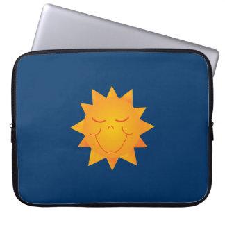 Happy Sun Laptop Computer Sleeves