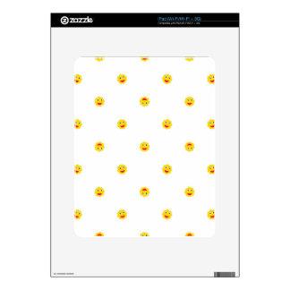 Happy Sun Motif Kids Pattern Skin For iPad