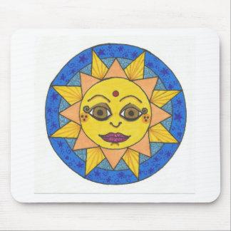 Happy Sun Mouse Pad
