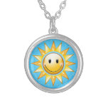 Happy Sun Personalized Necklace