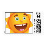 Happy Sun Postage Stamps