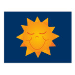 Happy Sun Postcard