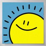 Happy Sun Print
