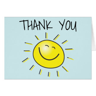 thank sun sunshine note smiling card cards happy summer heat beat donors supporters quotes young notes care covenanthousebc youth