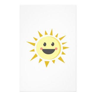 Happy Sun Stationery Design