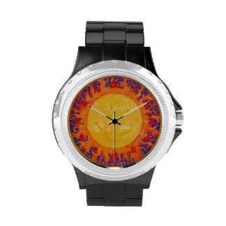 Happy Sun Wrist Watches