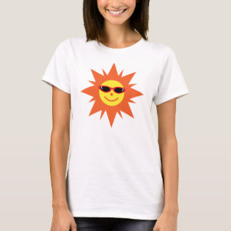 Happy Sun With Sunglasses T-Shirt