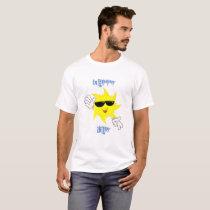 Happy 'Sun'Day Tee Shirt Mens