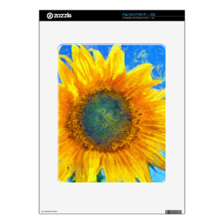 Happy Sunflower iPad Decal