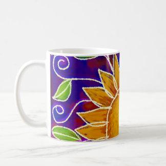 Happy Sunflower Coffee Mugs