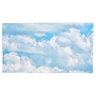 Happy Sunny Clouds Decor Pillow Case