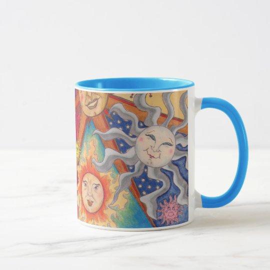 Happy suns mug