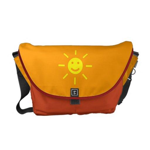 Happy Sunshine Courier Bag