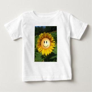 Happy Sunshine Flower Baby T-Shirt