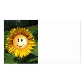 Happy Sunshine Flower Business Card