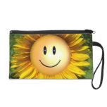 Happy Sunshine Flower Wristlet