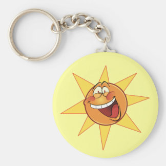 Happy Sunshine Keychain