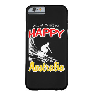 Happy Surfer AUSTRALIA (Wht) Barely There iPhone 6 Case