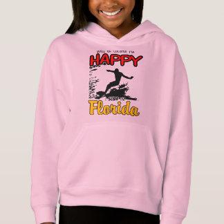 Happy Surfer FLORIDA (blk) Hoodie