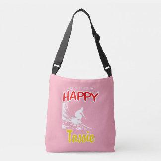Happy Surfer TASSIE (Wht) Crossbody Bag