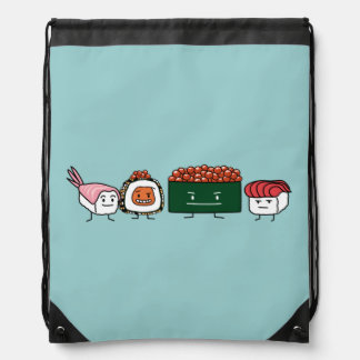 Happy Sushi Brothers Backpacks