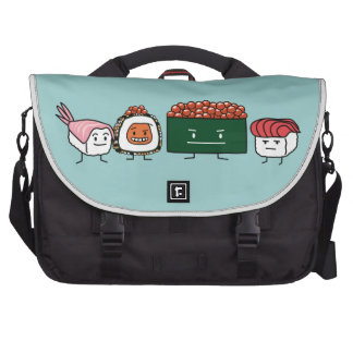Happy Sushi Brothers Laptop Bags