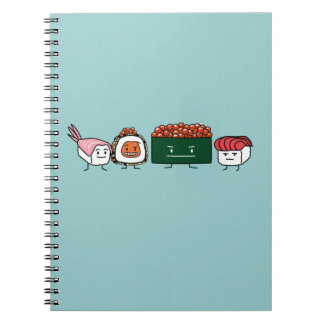 Happy Sushi Brothers Notebook
