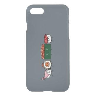 Happy Sushi Brothers rice Japanese shrimp salmon iPhone 8/7 Case