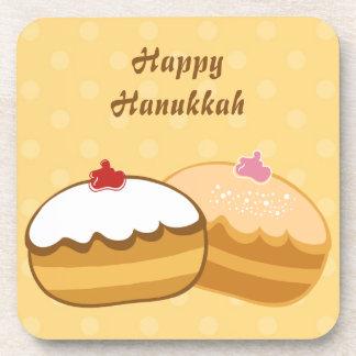 Happy Sweet Hanukkah Beverage Coaster