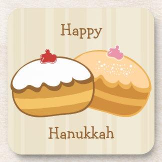Happy Sweet Hanukkah Coaster