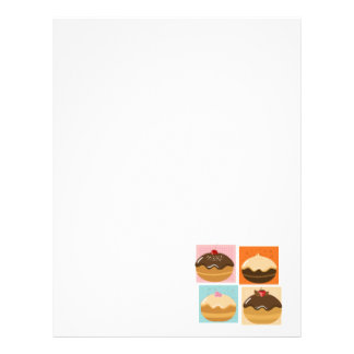 Happy Sweet Hanukkah Letterhead