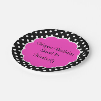 Happy Sweet Sixteen 7 Inch Paper Plate